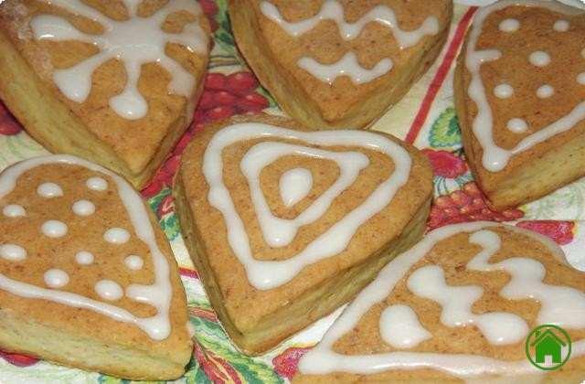 подарочное новогоднее печенье